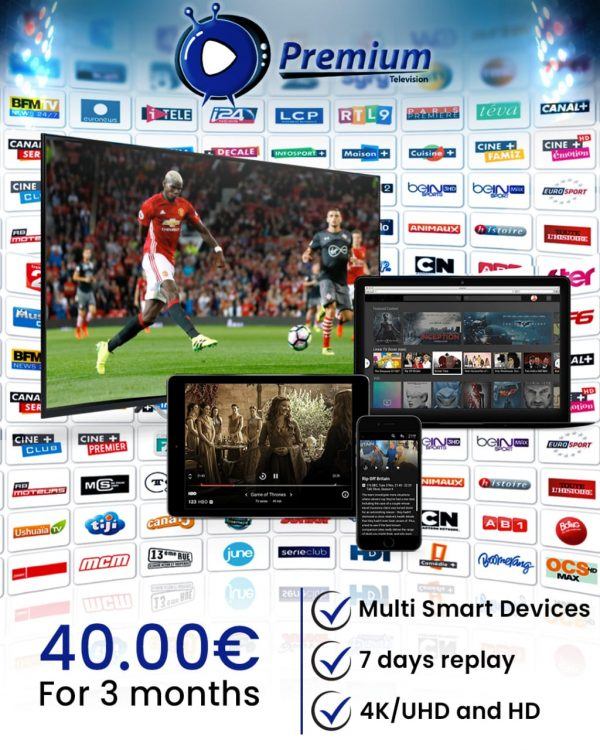 Premium Television Great for 3 Month